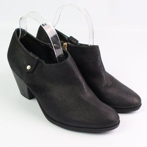 Dr. Scholl's Saint black faux leather ankle boot